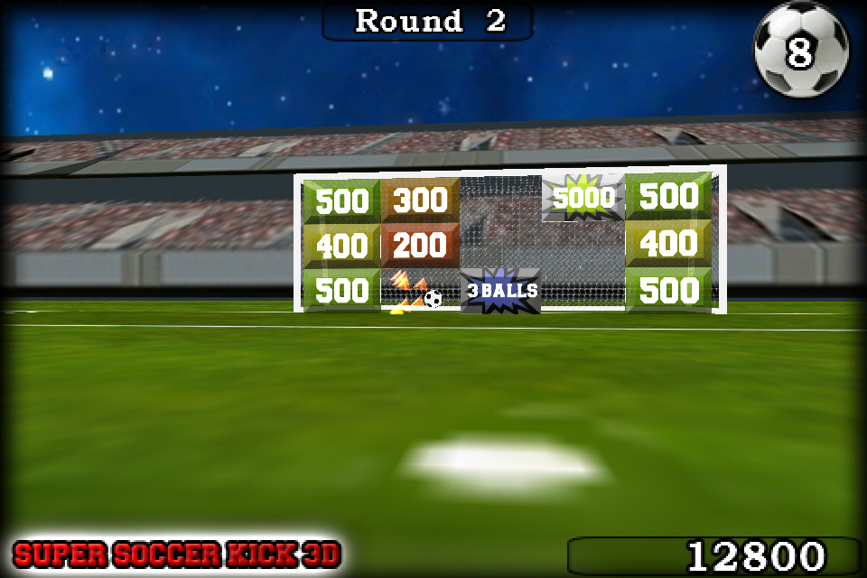 Screenshot Super Soccer Kick 3D